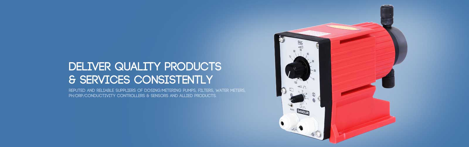 Dosing Pumps, India's #1st Electronic, Chemical Dosing Pumps